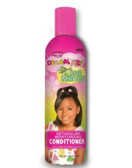 African Pride Dream Kids Olive Miracle detangling moisturizing conditioner 355ml/ 12oz