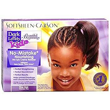Dark & Lovely Beautiful Beginnings Kids Relaxer Super