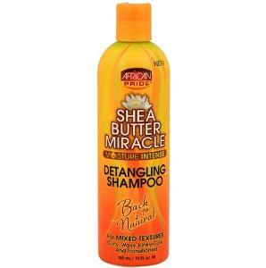 African Pride Shea Butter Miracle Detangling Shampoo 12oz/ 355ml