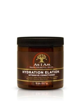 As I Am Hydration Elation Intensive Conditioner 8oz/ 227g