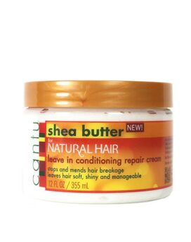 Cantu Shea butter leave in conditioning repair cream for natural hair 355ml/ 12oz