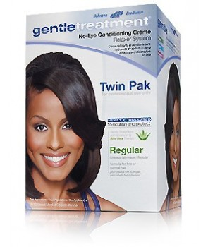 Gentle Treatment No-Lye Conditioning Creme Relaxer System Regular Twin Pak