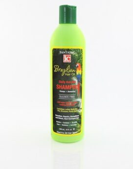 IC Fantasia Brazilian Hair oil Daily Keratin Shampoo 12oz/ 355ml