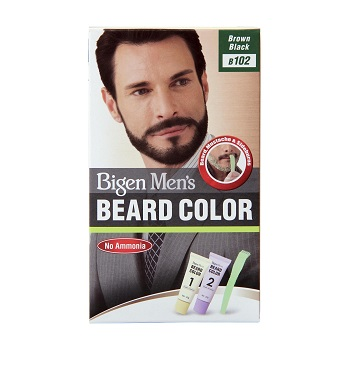 Bigen Men's Beard Brown Black B102