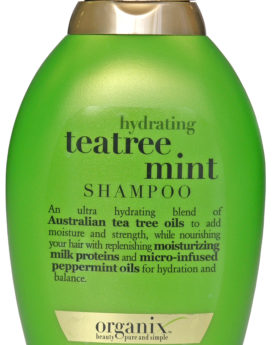 Organix Hydrating Tea-Tree Mint Shampoo 13oz/ 385ml