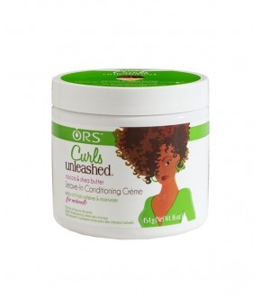ORS Curls Unleashed Coco & Shea butter Leave in Conditioner Creme 16oz