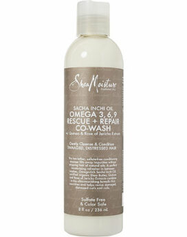 Shea Moisture Sacha Inchi Oil Omega 3,6,9 Rescue + Repair Co-Wash 8oz 236ml