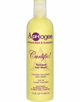 Aphogee Curlific Treatment Hair Wash 12oz
