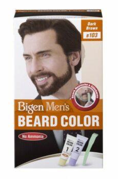 Bigen Men's Beard Color Dark Brown 103
