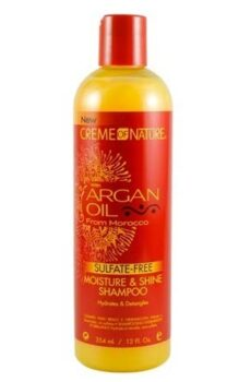 Creme of nature Moisture & shine shampoo with Argan oil 354ml/ 12oz