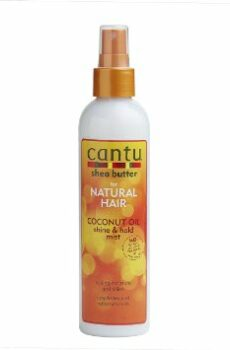 Cantu Shea butter for natural hair coconut oil shine & hold mist
