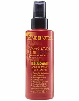 Creme of nature 7 in 1 leave-in treatment with Argan oil