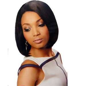 Sleek Human Hair Tanya Wig
