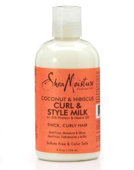 Shea Moisture Coconut & Hibiscus Style Milk 8oz