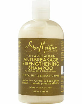 Shea Moisture Yucca & Plantain Anti-Breakage Strengthening Shampoo 13oz/ 384ml