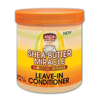 African Pride Shea Butter Miracle Leave-In-Conditioner 15oz