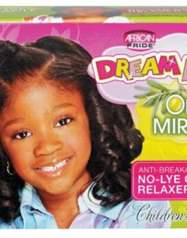 African Pride Dreams Kids Olive Miracle Relaxer Regular