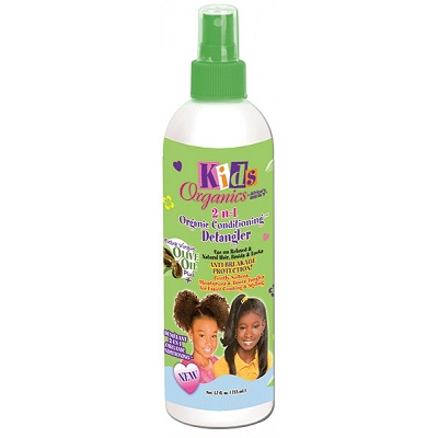 Africa's Best Kids Organics 2 in 1 Conditioning Detangler 12oz
