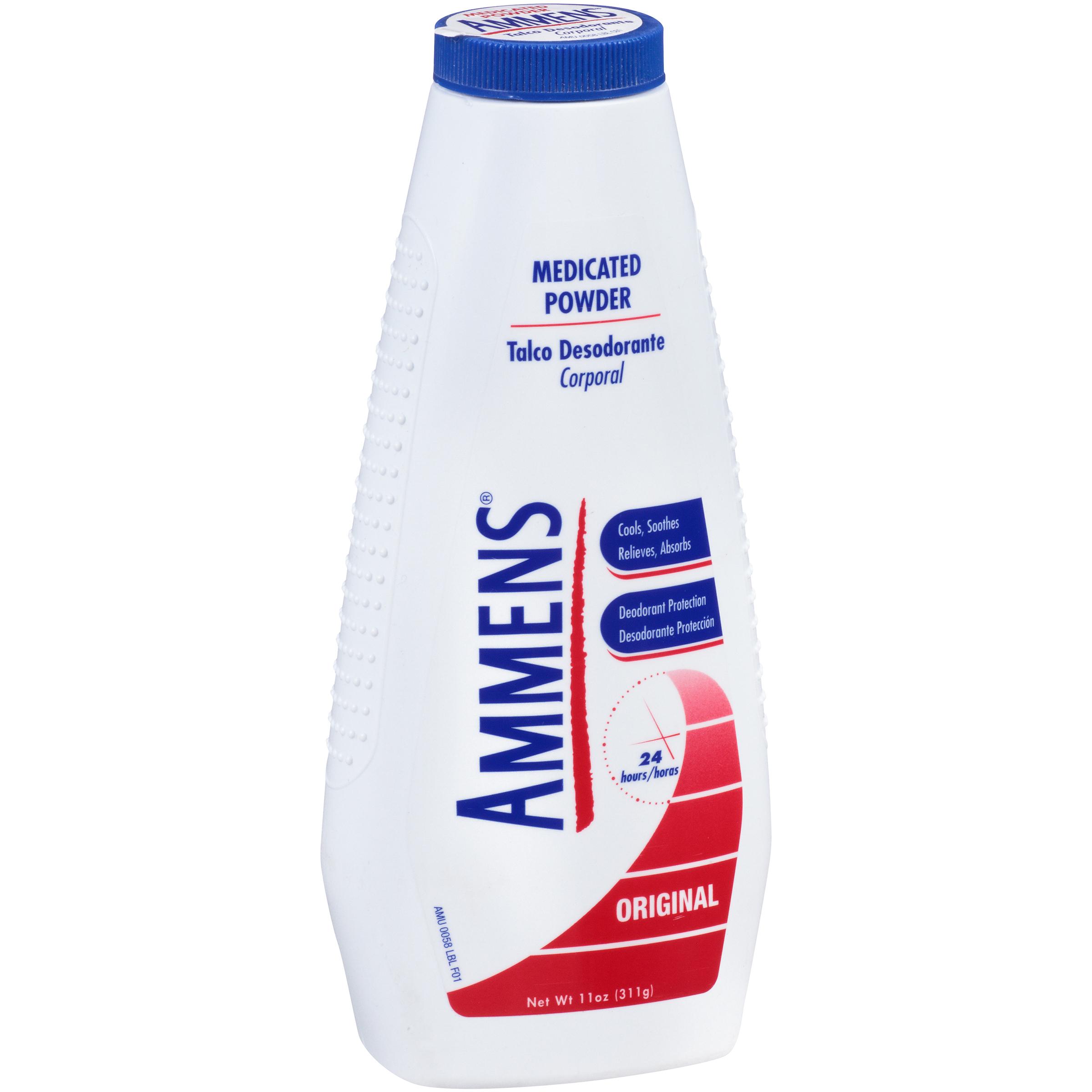 Ammens Powder Original Medicated Powder Formula 11oz