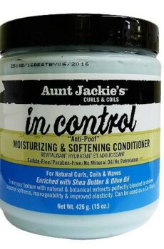 Aunt Jackie's In control moisturizing & softening conditioner 15oz