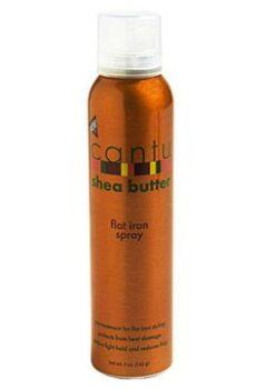 Cantu Shea butter flat iron spray