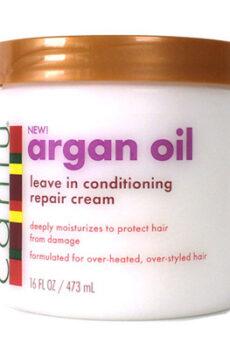 Cantu Argan oil leave in conditioning repair cream 16OZ/ 473ML
