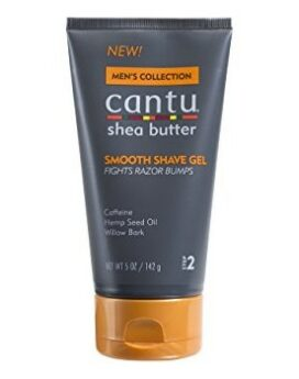 Cantu For Men Shea Butter Smooth Shave Gel Fights Razor Bumps 5oz 142g