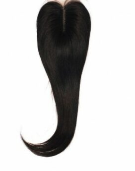 Real Hair Straight Closure 14' inch