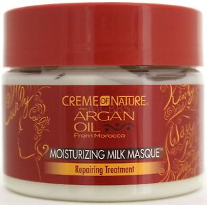 Creme Of Nature Argan Oil Moisturizing Milk Masque Repairing Treatment