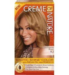 Creme Of Nature Light Caramel Brown 9.2