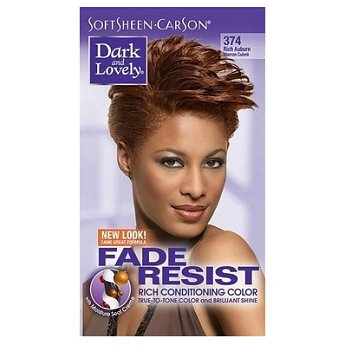 Dark & Lovely Fade-Resistant Rich Conditioning Color #374 ( Rich Auburn )