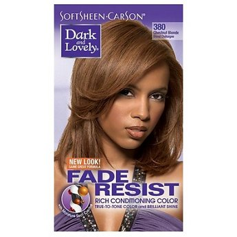 Dark & Lovely Fade-Resistant Rich Conditioning Color #380 ( Chestnut Blonde )