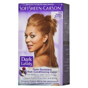 Dark & Lovely Fade-Resistant Rich Conditioning Color #378 ( Honey Blonde )