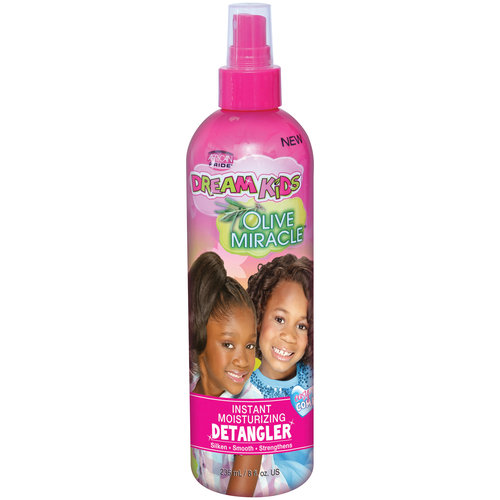 African Pride Dream kids olive miracle instant moisturizing detangler 235ml/ 8oz