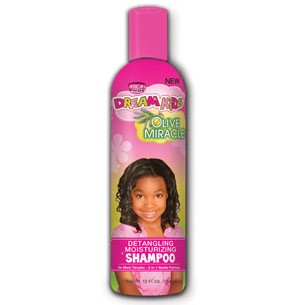 African Pride Olive miracle detangling moisturizing shampoo