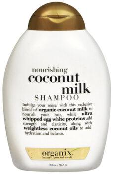 Organix Nourishing Coconut Milk Shampoo 13oz/ 385ml
