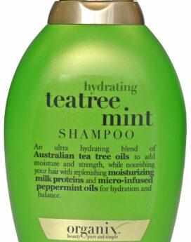 Organix Hydrating Tea-Tree Mint Shampoo 13oz/ 385ml