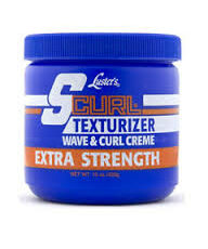 S-Curl Texturizer Wave & Curl Creme Extra Strength 15oz