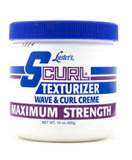 S-Curl Texturizer Wave & Curl Creme Maximum Strength 15oz