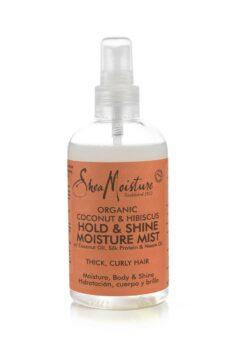 Shea Moisture Coconut & Hibiscus Hold & Shine Moisture Mist 8oz / 236ml