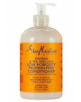 Shea Moisture Baobab & Tea Tree Oils Low Porosity Protein Free Conditioner 13oz 384ml