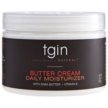Tgin Butter Cream Daily Moisturizer With Shea Butter + Vitamin E 12oz 340g
